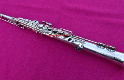 Buescher 1924 'True Tone' Bb Soprano, Silver #165k