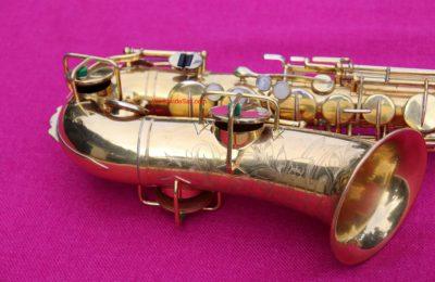 Buescher 1924 'True Tone' Eb Alto, Series II, Gold, #171k