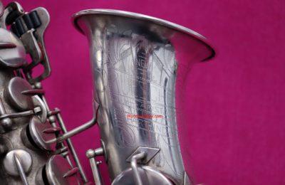 Buescher 1931 'The New Aristocrat' Eb Alto, Silver, #262k