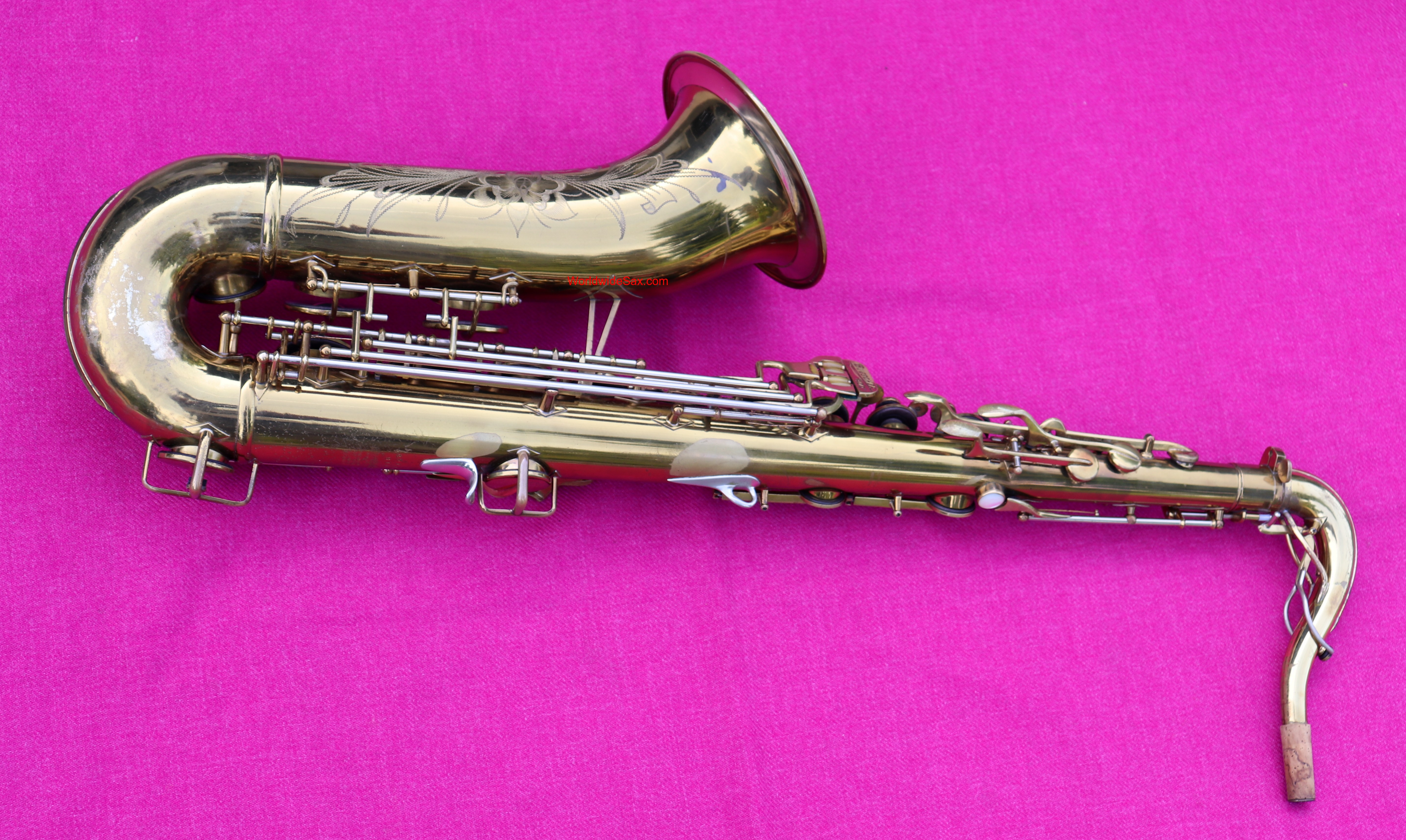 Buescher 1948 'Top Hat and Cane 400' Bb Tenor, #325k (Archived)