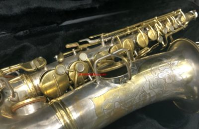 "Conn 1925 'New Wonder II – ""Chu Berry""' Eb Alto, Silver & Gold, #161,16x"