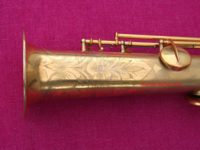 "Conn 1927 'New Wonder II – ""Chu Berry""' Bb Soprano, Gold Plate #196k (Archived)"