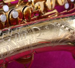 Conn 1931 '6M – Art Deco Transitional' Eb Alto, GOLD #246k