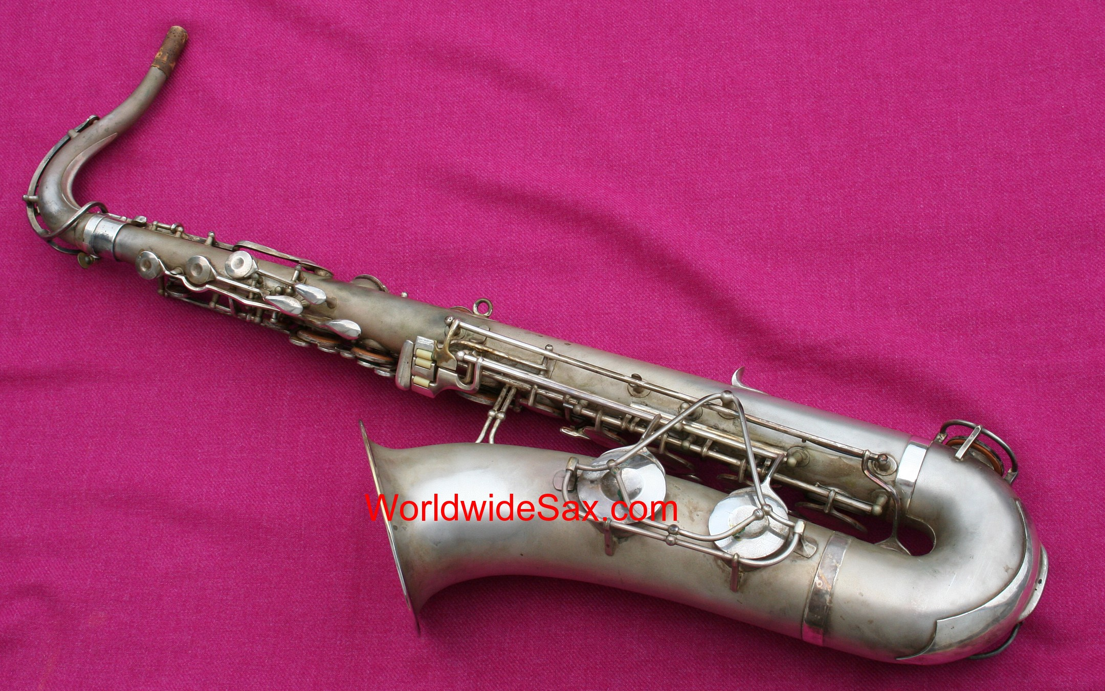 Olds 1940s 'Super' Bb Tenor, Silver #1,08x (Archived)