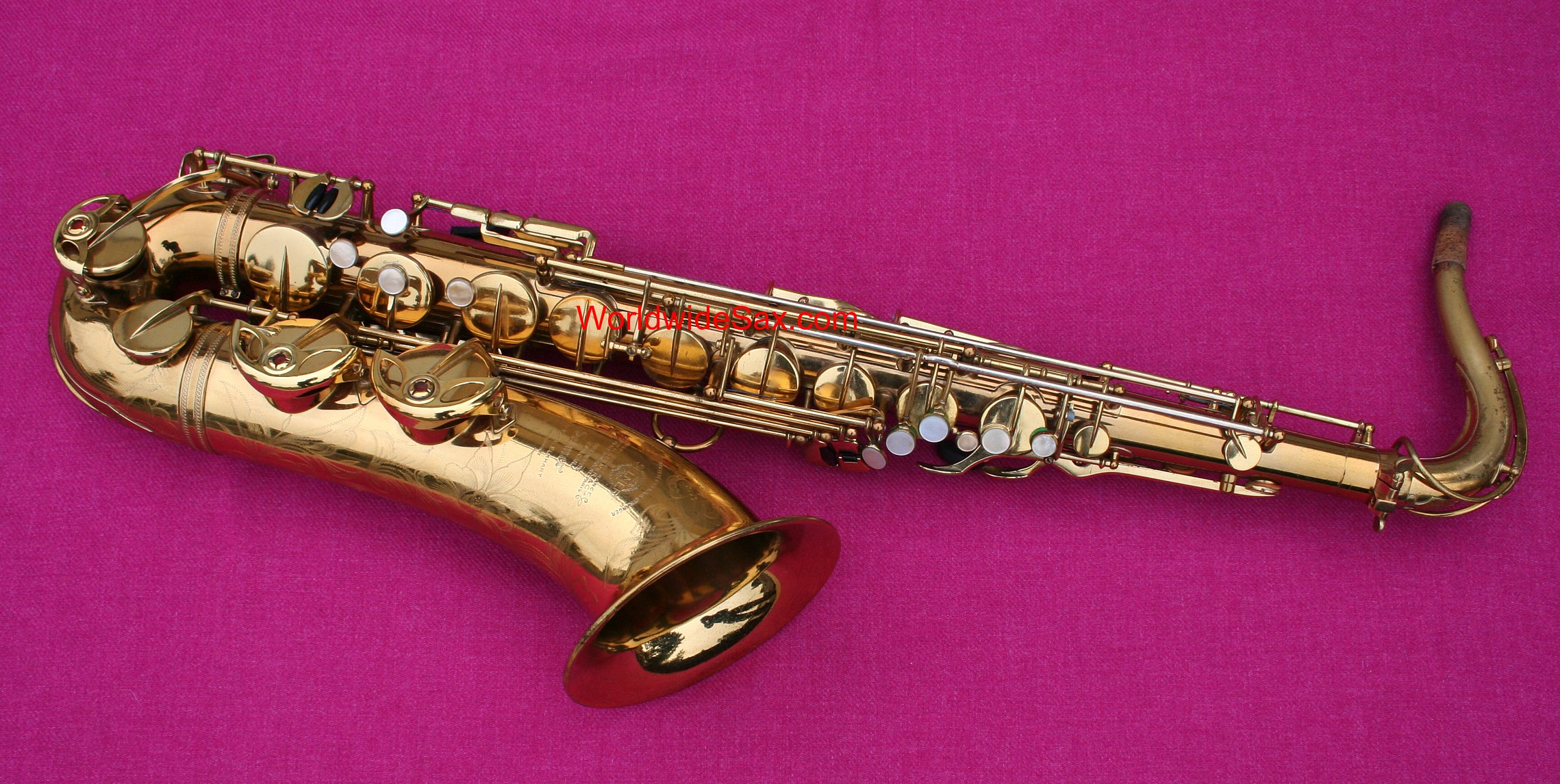 Selmer 1951 'Super Balanced Action' Bb Tenor, #43,32x (Archived)