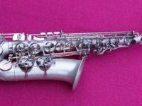Selmer 2015 '130th Anniversary' Eb Alto, Silver, #775k